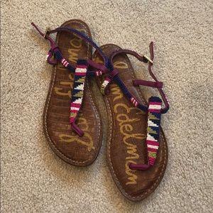 Sam Edelman beaded sandals